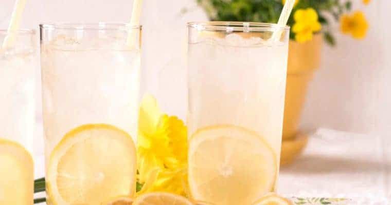 🍋 Real Lemonade Recipe